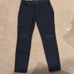 JBRAND ripped black jeans